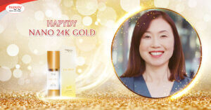 nano 24k gold Hapydy