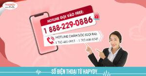 Số điện thoại của Hapydy ở Mỹ
