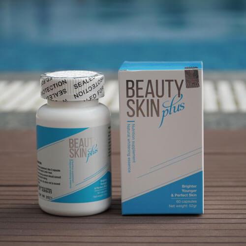 Beauty skin plus là dòng viên uống đẹp da an toàn từ Mỹ
