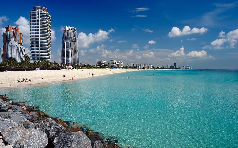 Bãi biển Miami (bãi biển phía Nam) là một trong những bãi biển đẹp nhất ở Florida