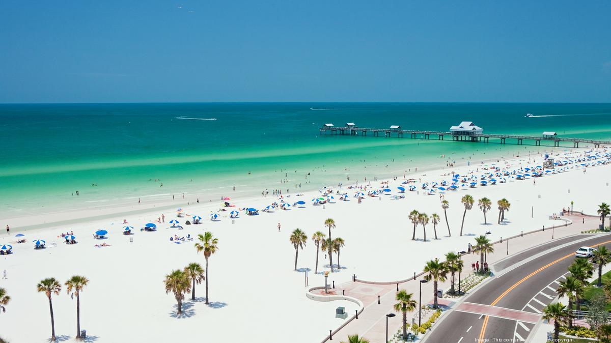 Bãi biển Clearwater nằm trong top 5 bãi biển đẹp nhất ở Florida