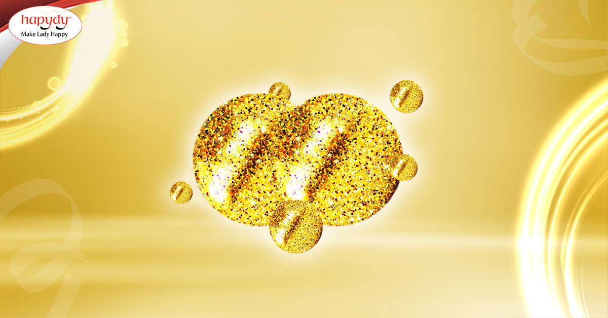 Vàng nano 24k Hapydy được biết đến với khả năng trẻ hóa da nhờ vàng